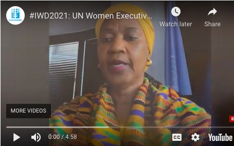 Statement by Phumzile Mlambo-Ngcuka, UN Women Executive Director, on International Women's Day 2021