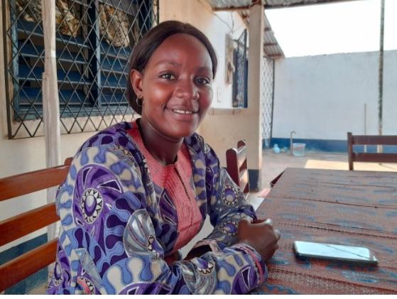 Adja Kadije, peace mediator in the Central African Republic