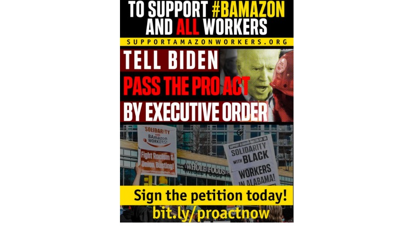 """USA"""" BAmazon Union Vote: The Opening Salvo in a Long Struggle!"""
