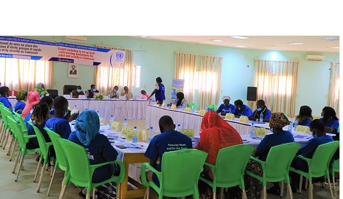 UNESCO supports 5 Youth-led Early Warning and Response Mechanisms for peacebuilding within 5 councils in Cameroon