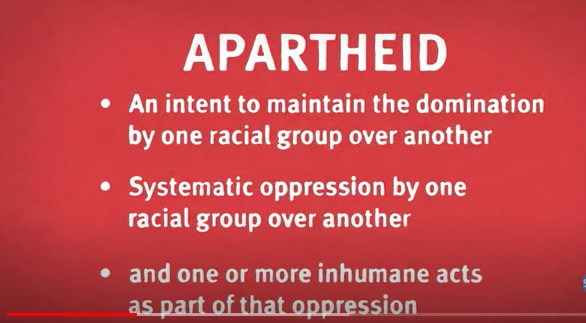 Human Rights Watch : Abusive Israeli Policies Constitute Crimes of Apartheid, Persecution