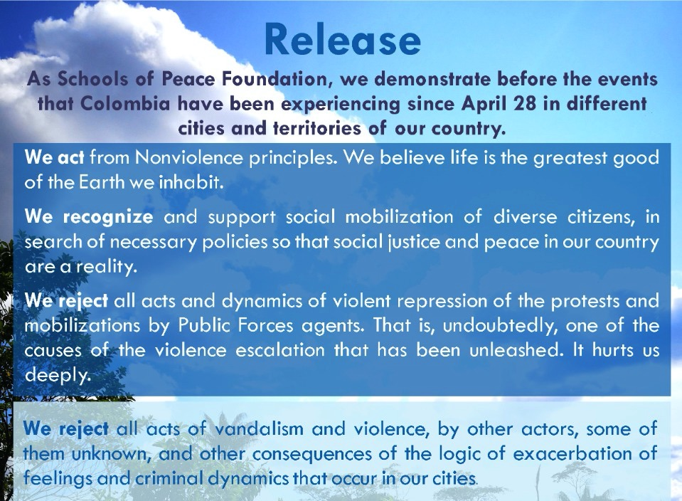 Nonviolent Response to the Crisis in Colombia