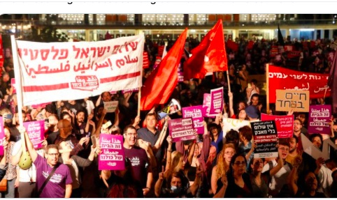 Thousands of Jews and Arabs Rally in Tel-Aviv for Peace and Coexistence