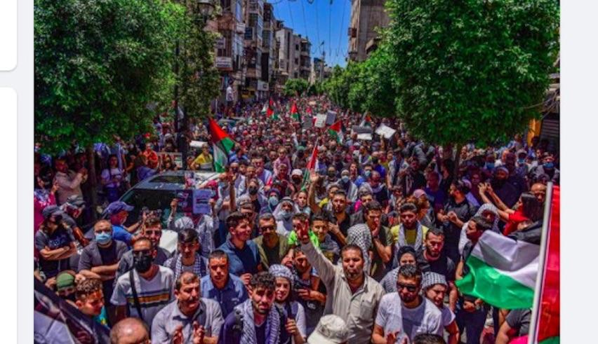 General strike in Palestine