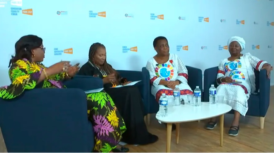 African women propose a 10-year plan for gender equality in Africa at the Generation Equality Forum in Paris