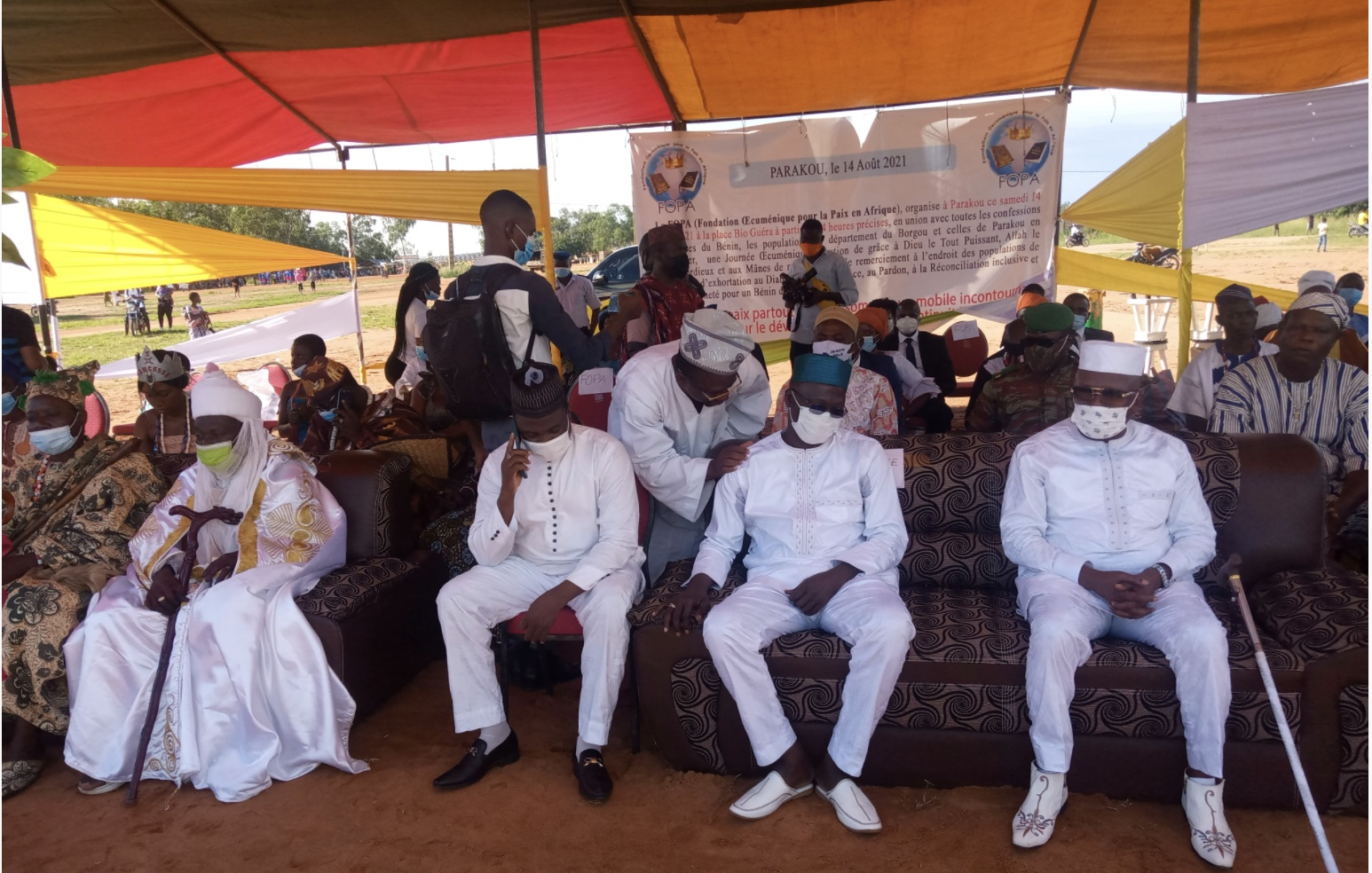 Benin: Traditional kings and religious leaders pray for peace in Parakou