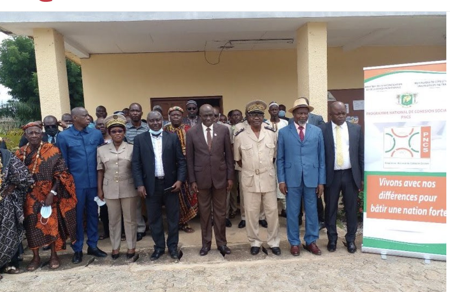 Toumodi, Ivory Coast: Community leaders trained in the culture of peace