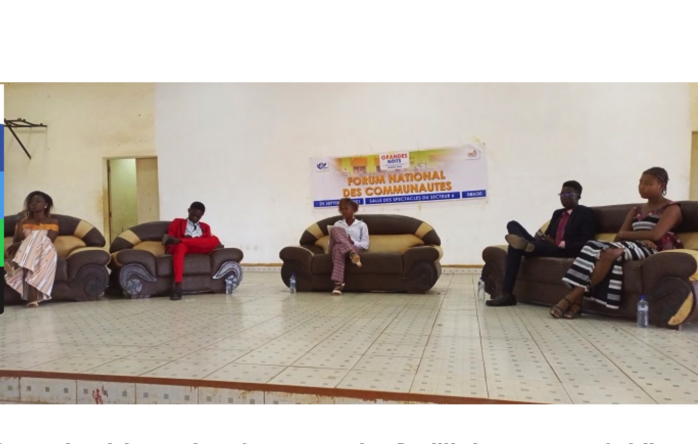 Burkina Faso: Great nights of the communities of Dédougou: Young people sensitized on the culture of peace