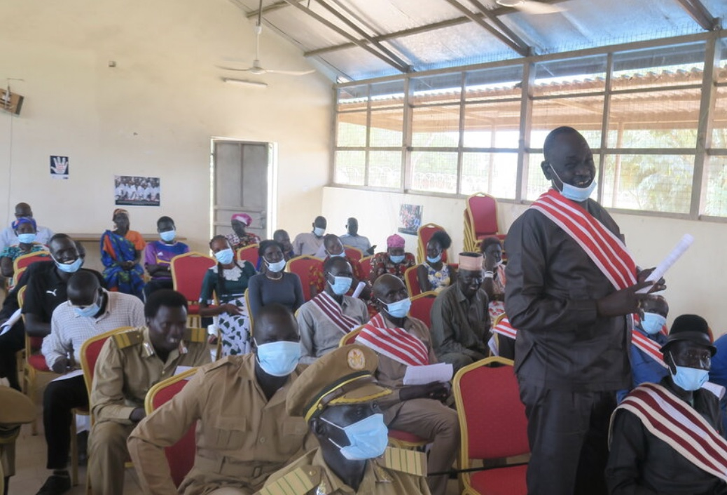 South Sudan : Community leaders in Unity state pledge to promote a culture of peace