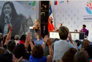ONU Mujer: Bachelet destacó participación de mujeres en puestos de poder