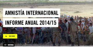 Amnistía Internacional : Un año demoledor
