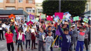 Más de 100.000 escolares participan en la red 'Escuela: Espacio de Paz' en Almería, España