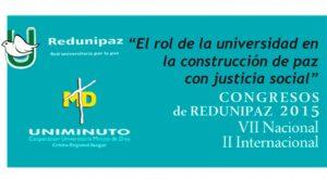 Colombia: VII Congreso Nacional y II Internacional de REDUNIPAZ