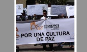 Bolivia: Universitarias marcharon promoviendo Cultura de Paz