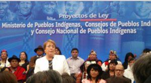 Bachelet crea Ministerio de Pueblos Indígenas en Chile