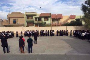 La campaña de los docentes iraquíes tiene por objeto acabar con la violencia contra las mujeres