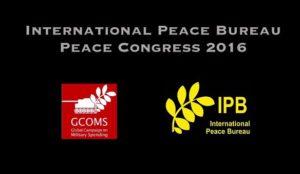 Desarme! – Congreso Internacional sobre los Gastos Militares y Sociales – International Peace Bureau