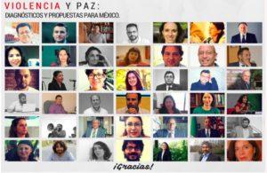Encuentro sobre violencia y paz en México