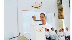 ONU: Ban exhorta al Gobierno de Colombia y al ELN a alcanzar un acuerdo lo antes posible