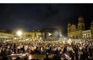 Colombia: Jóvenes por la paz: multitudinarias marchas en 16 ciudades del país