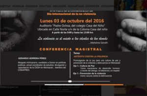 Realizarán Primer Encuentro de Prevención de la Violencia en Uruapan