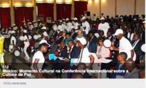 Segunda conferência internacional sobre a cultura da paz em África