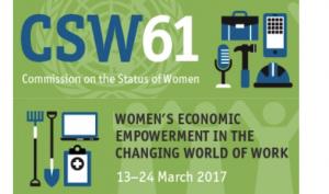 Naciones Unidas  – Comisión de la Condición Jurídica y Social de la Mujer – 2017