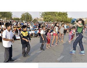 Peru: Con arte en las calles buscan promover la cultura de paz