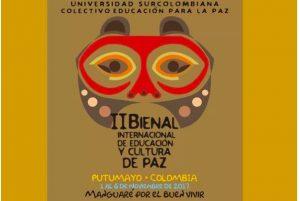 Colombia: Putumayo albergará bienal de educación y cultura para la paz