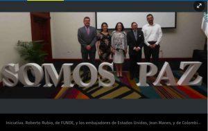 El Salvador: Lanzan proyecto para fomentar cultura de paz