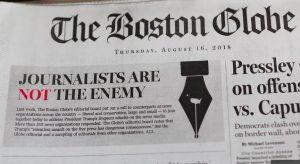 EE.UU. Publican más de 300 editoriales contra ataques de Trump a la prensa