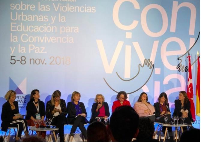 Madrid: Las mujeres clausuran el Foro Antiviolencias con un mensaje de paz