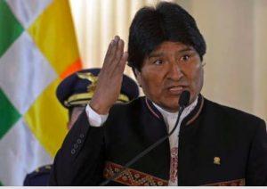 """Bolivia: Evo Morales dice que Estados Unidos busca """"devastar y empobrecer"""" Venezuela como a Irak y Libia"""