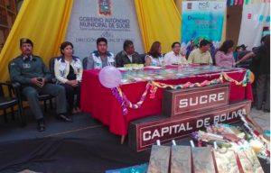 Bolivia: Autoridades presentan el Carnaval 2019 enfocado en promover la cultura de paz en Sucre