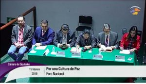 México: Foro Nacional por una Cultura de Paz