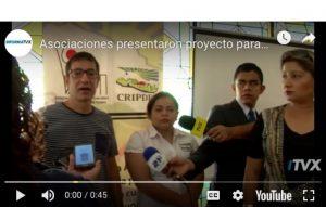 El Salvador: Asociaciones presentan proyecto para promover una Cultura de Paz