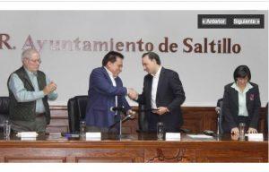 México: Acuerdan  Fiscalía y municipio de Saltillo fomentar la cultura de la paz