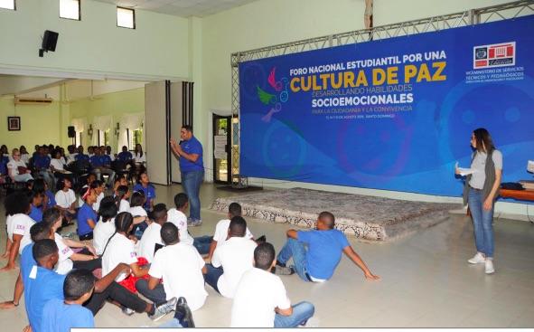 República Dominicana: MINERD realiza Foro Nacional Estudiantil por una Cultura de Paz