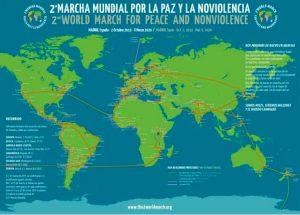 América prepara la Segunda Marcha Mundial por la Paz y la Noviolencia