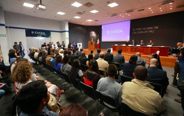 México: Inauguran II Foro Global de Cultura de Paz, en el CUCEA