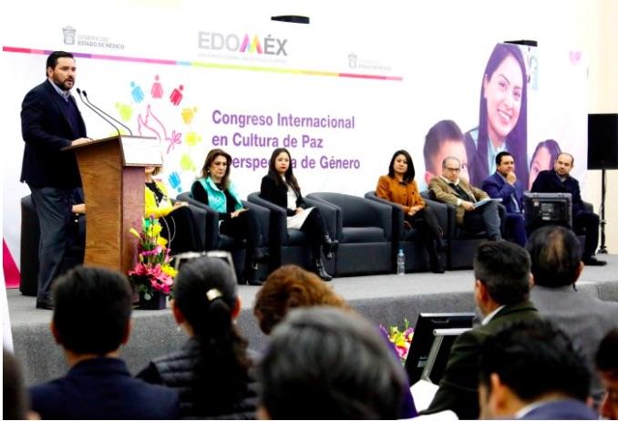 El gobierno del estado de Méxicorealiza Congreso Internacional en Cultura de Paz y Perspectiva de Género